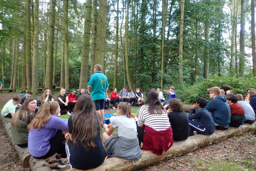 Summer Camp low ropes