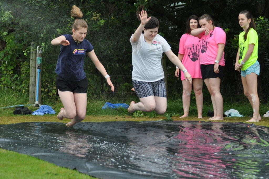Summer Camp Slip & Slide