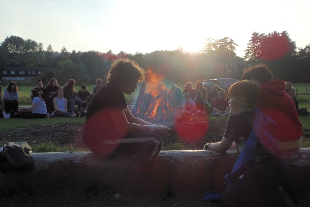 Summer Camp Fire